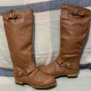 Cathy Jean Over The Knee Boots